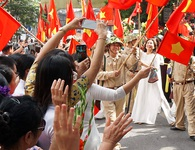 Hoạt cảnh chân thực về cuộc chiến đấu 60 ngày đêm trên đường phố Hà Nội