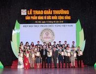 Công ty Nhật Đức vinh dự nhận giải thưởng cao quý của Hiệp hội Thực phẩm chức năng Việt Nam