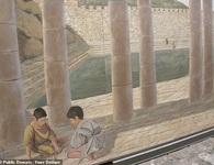 Phát hiện con đường cổ lát đá 2000 năm tuổi