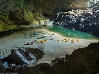 Hang Sơn Đoòng được bình chọn là một trong những điểm cắm trại lý tưởng nhất