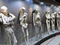 Nơi lưu giữ hàng trăm xác ướp của nạn nhân chết vì bệnh dịch