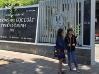 Trường ĐH Luật TPHCM công bố thông tin tuyển sinh dự kiến năm 2019