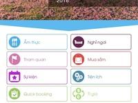 Ứng dụng Dalat City hỗ trợ thông tin du lịch cho du khách