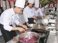 Ninh Bình sôi nổi hội thi nấu ăn giỏi ngành du lịch