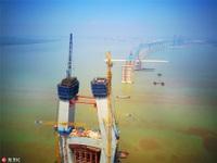 Trung Quốc sắp sở hữu cầu dây văng có nhịp chính dài nhất thế giới