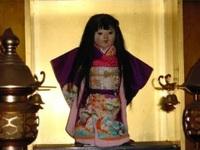 Ngôi đền cổ hút khách nhờ lời đồn bí ẩn về câu chuyện búp bê tóc tự mọc dài