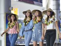 Dàn nhan sắc Hoa hậu thế giới trải nghiệm du lịch Đà Nẵng