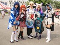 """Giới cosplay Hà Thành đón Trung thu """"siêu độc"""" tại ngày hội Nhật Bản"""