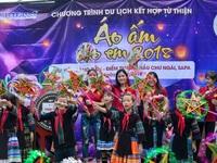 Vui trung thu cùng trẻ em vùng cao tại xã Hầu Thào, Sapa