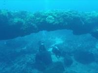 Quảng Ngãi: Kỳ thú vòm đá núi lửa hàng triệu năm tuổi dưới đáy biển
