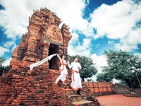 Tháp Chăm đẹp nhất Việt Nam hoàn tất việc sửa chữa để đón khách Tết