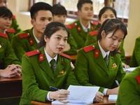Bộ Công an giải đáp thắc mắc bảo lưu kết quả vào trường Công an nhân dân