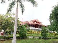 Khu tưởng niệm Bác Hồ xanh mát, yên bình giữa lòng thành phố Cà Mau