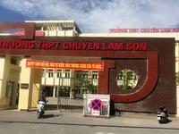 Điểm chuẩn vào lớp 10 Trường THPT chuyên Lam Sơn