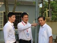 """Thứ trưởng Lê Hải An """"thị sát"""" một số điểm thi tại Hưng Yên"""