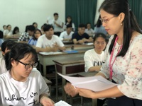 Thí sinh hai lần thi đánh giá năng lực tìm suất vào Đại học