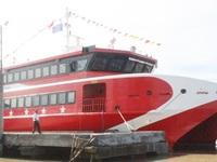 Tàu cao tốc lớn nhất Việt Nam chạy tuyến Sóc Trăng - Côn Đảo