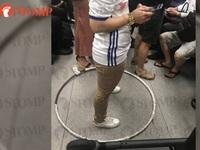 Nữ hành khách bị chỉ trích ích kỷ khi giữ chỗ kiểu kỳ quặc