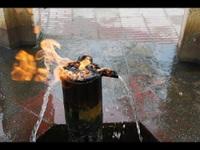 Đến nơi có thể chứng kiến cảnh nước suối bốc cháy