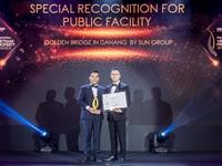 PropertyGuru Vietnam Property Awards trao Chứng nhận đặc biệt cho công trình xuất sắc nhất tại Đà Nẵng.