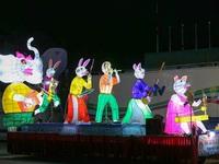 """Mãn nhãn những mô hình đèn trung thu khổng lồ """"độc nhất vô nhị"""" ở Tuyên Quang"""