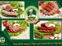 Klobasa - món ăn tây hấp dẫn người Việt