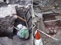 Phát hiện ngôi nhà từ thời Trung Cổ khoảng 600 năm tuổi nằm dưới lòng đất
