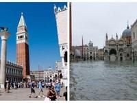 """Triều cường cao nhất hơn nửa thế kỷ, hơn 80% """"thành phố tình yêu"""" ngập trong nước"""