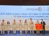 BenThanh Tourist đón Huân chương Lao động hạng Nhất