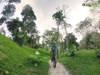 Khám phá đường xe đạp địa hình trong rừng nguyên sinh đầu tiên tại Việt Nam