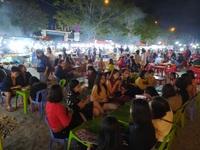 Chợ đêm Sơn Trà vẫn tấp nập khách trong mùa dịch Covid-19