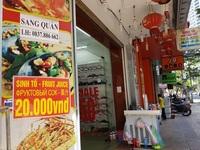 """Nha Trang: Hàng loạt cửa hàng ở """"phố tây"""" đóng cửa, trả mặt bằng"""