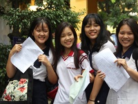 Gợi ý đáp án đề thi tham khảo THPT quốc gia môn Văn, Địa, Sử, GDCD