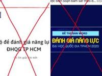 Bị mạo danh bán đề luyện thi đánh giá năng lực, ĐH Quốc gia TPHCM nói gì?