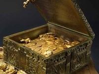 Tìm thấy rương kho báu chứa đầy vàng, kim cương trị giá hơn 23 tỷ đồng