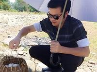 Thưởng thức món trứng chần ở dòng suối nước nóng độc nhất Hà Tĩnh