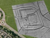 Phát hiện lâu đài cổ 800 năm tuổi bị chôn vùi dưới lòng đất
