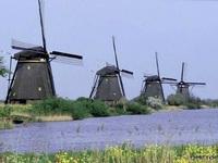 Du lịch tại xứ sở của những cối xay gió