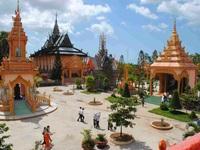 Thăm ngôi chùa lộng lẫy nhất miền Nam Bộ