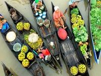 Dạo quanh các chợ nổi hút khách trên thế giới