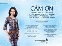 Singapore Airlines Việt Nam: Nối kết Việt Nam với thế giới