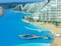 Ngợp mắt với bể bơi rộng nhất thế giới