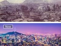 Ngược dòng thời gian xem những đô thị lớn thay đổi đến thế nào
