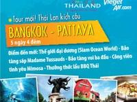 Trải nghiệm du lịch Thái Lan cùng Sunvina và VietJetAir