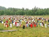 """Lạ lùng """"cánh đồng bù nhìn"""" ở Phần Lan"""