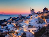 Đảo thiên đường Santorini - điểm đến của những đôi tình nhân