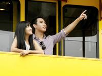 Việt Nam lần đầu tiên có tàu hỏa leo núi bằng cáp kéo