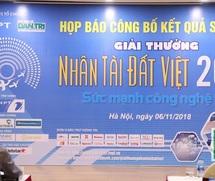 Giải thưởng Nhân tài Đất Việt 2018: Công bố 20 sản phẩm CNTT lọt Chung khảo