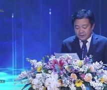 Ông Huỳnh Quang Liêm phát biểu