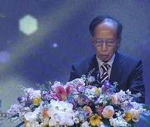 Ông Phạm Huy Hoàn phát biểu khai mạc